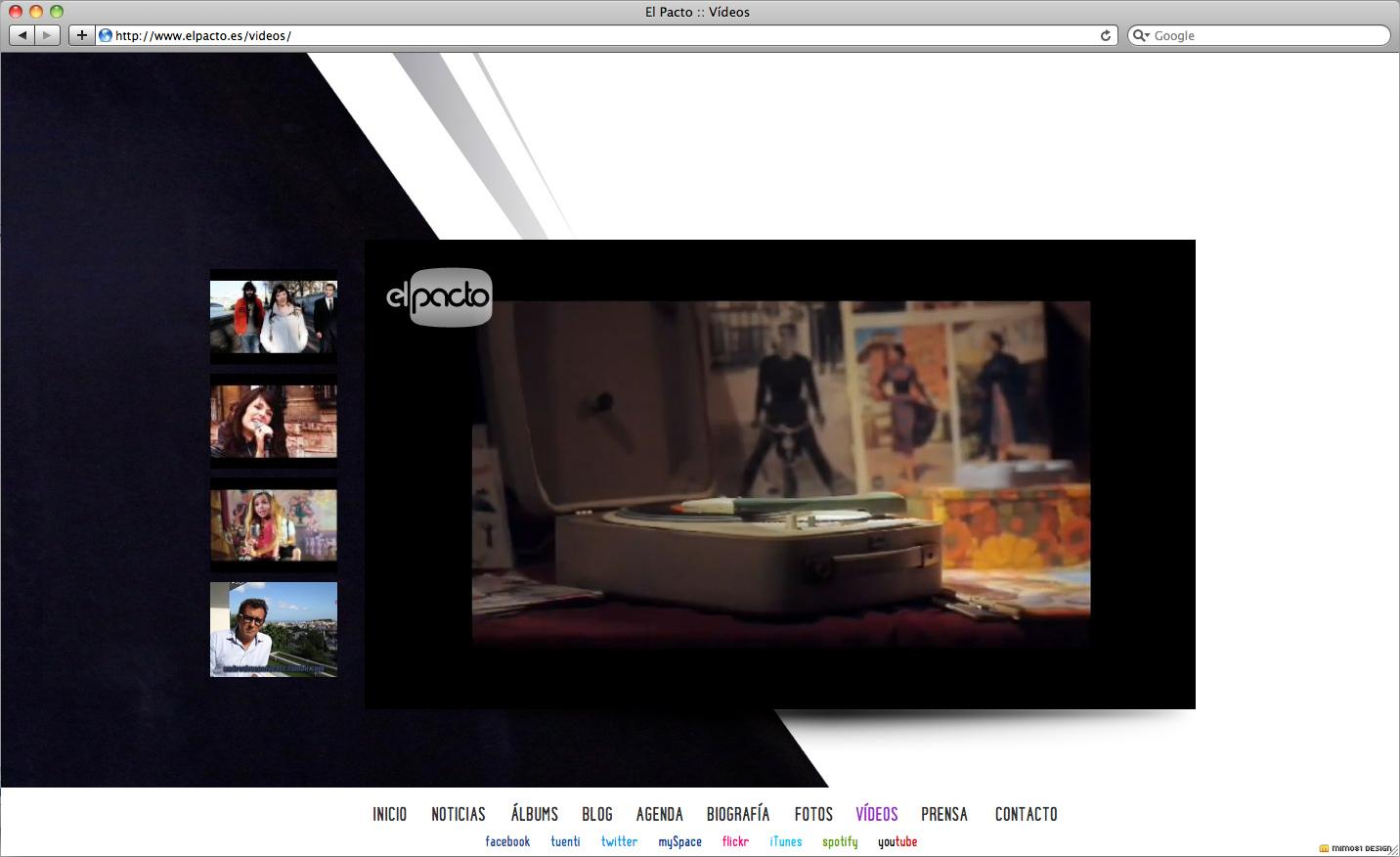 Vídeos Web El Pacto
