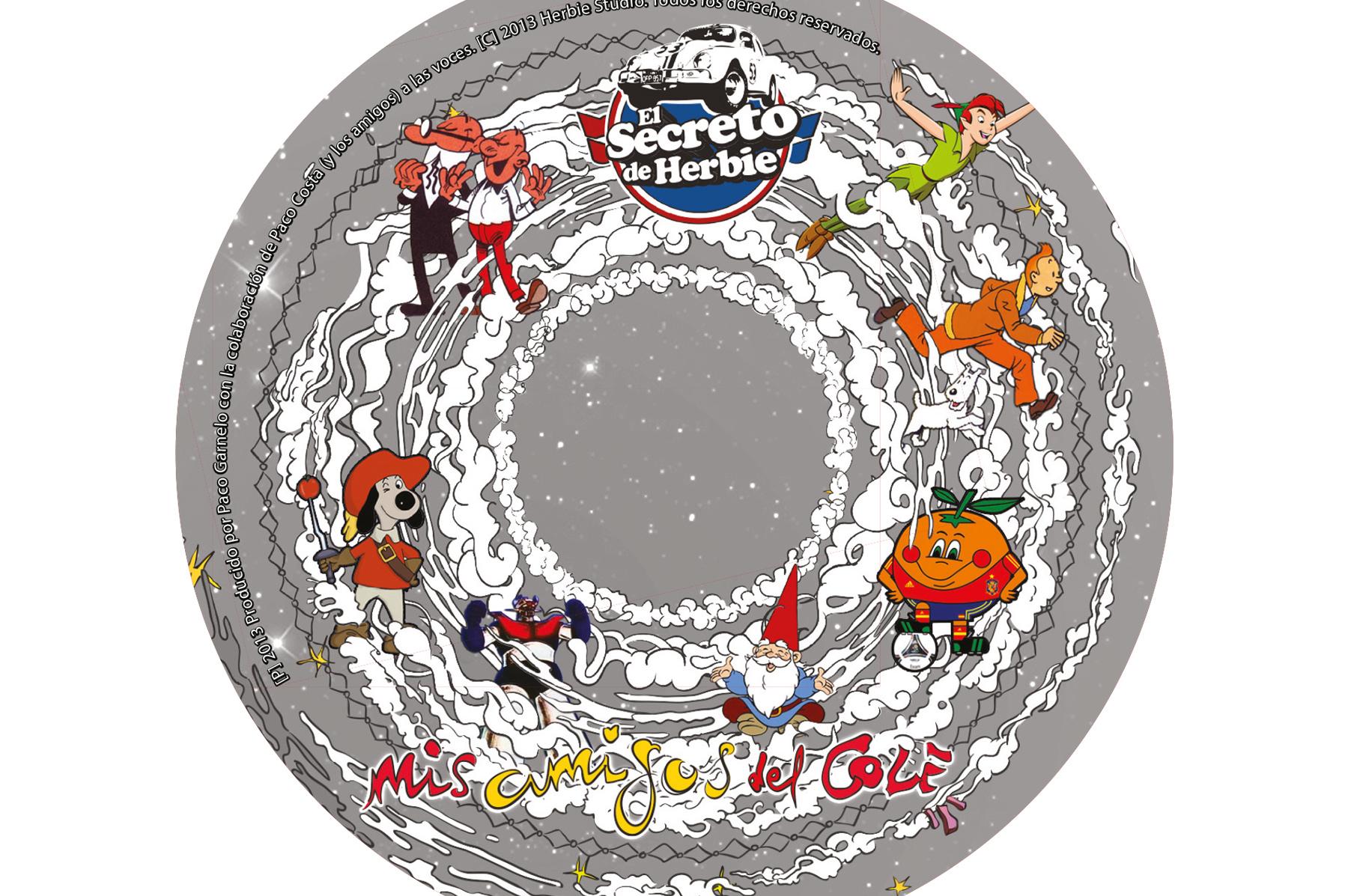 diseño galleta cd ilustración