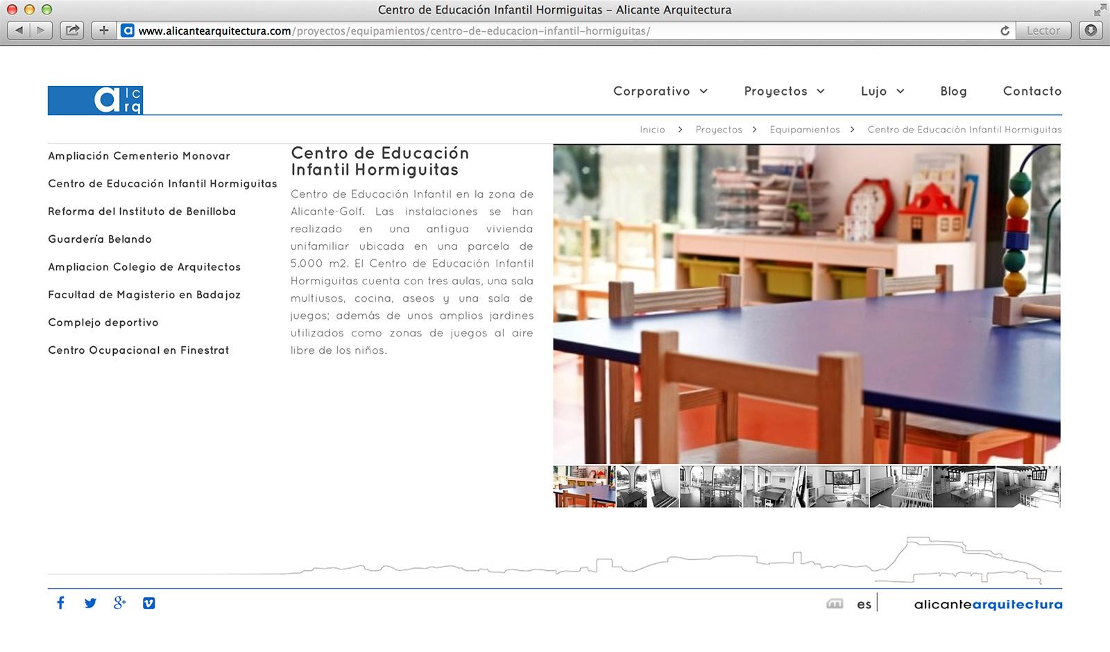 Página de Proyecto